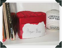 Original Prayer Box