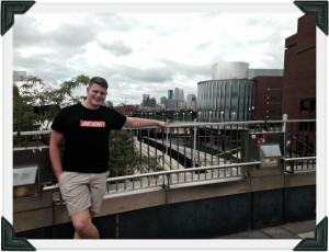 U of M with Minneapolis Skyline